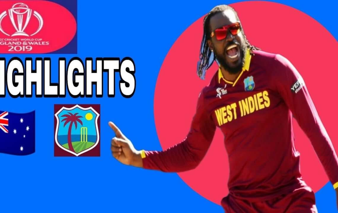 Australia Vs West Indies Match 10 Highlights Full Hd World