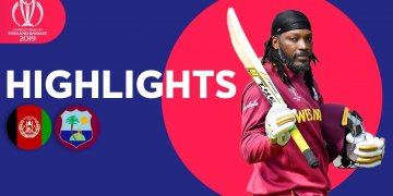 Afghanistan vs West Indies Highlights Match 42 ICC World Cup – July 4 2019