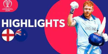 England vs New Zealand Highlights Match 41 ICC World Cup – July 1 2019