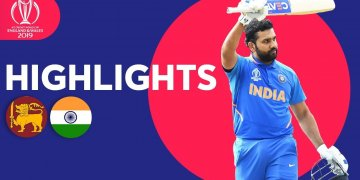 India vs Sri Lanka Highlights Match 44 ICC World Cup – July 6 2019