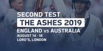 England vs Australia 2nd Test Aug 14, 2019 Live Score and Live Streaming