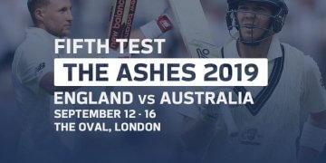 England vs Australia 5th Test Sep 12, 2019 Live Score and Live Streaming